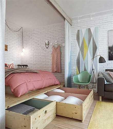 Tiết kiệm không gian phòng ngủ