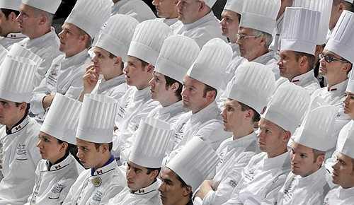 Đầu bếp: Mức lương trung bình của đầu bếp là 42.208 USD/năm và khả năng phát triển nghề nghiệp là hơn 3%.