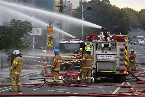Lính cứu hỏa: Nghề này có khả năng phát triển nghề nghiệp là 8,6%.