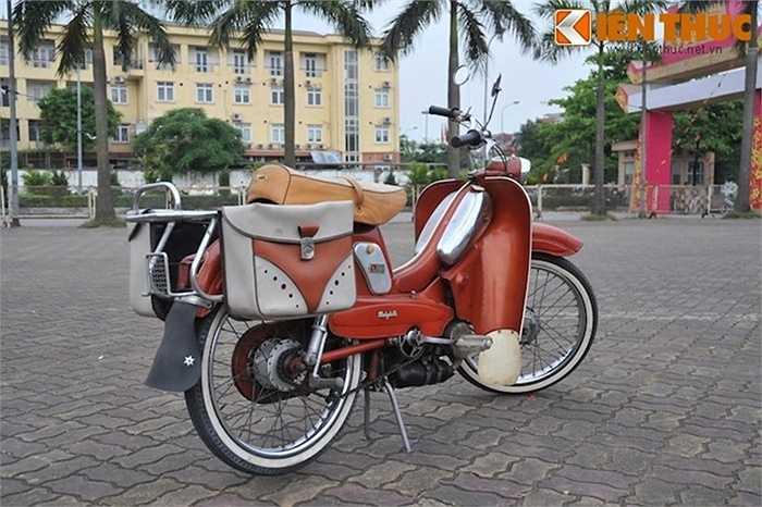 Du nhập vào Việt Nam từ những năm 60 - 70 của thế kỷ trước, Mobylette vẫn luôn là 'của hiếm' của thời bao cấp được giới đam mê chơi xe cổ Việt yêu thích và sưu tầm.