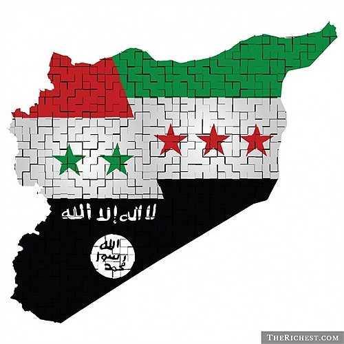 6. IS đang kiểm soát vùng đất rộng lớn hơn khá nhiều quốc gia trên thế giới. Và lãnh thổ của chúng đang phát triển từng ngày. Chúng gọi nơi mà mình cai trị là các 'thánh địa IS'