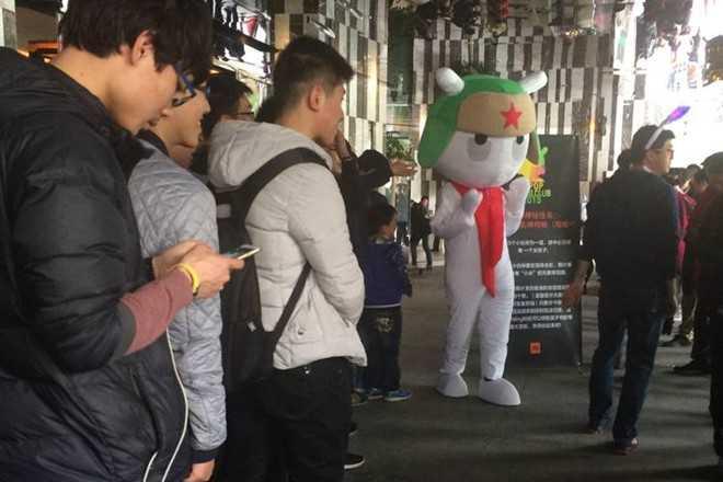 Người hâm mộ tham dự một bữa tiệc của Xiaomi tại Trung Quốc