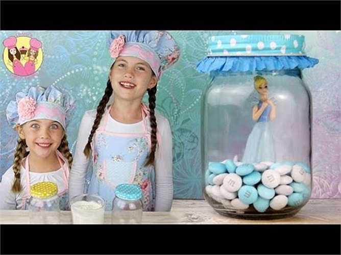 Đoạn video clip hướng dẫn làm kẹo băng lấy cảm hứng từ bộ phim ăn khách Frozen đã thu hút 57 triệu lượt xem
