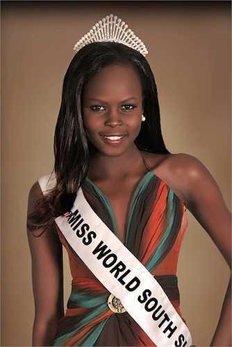 Hoa hậuAtong DeMach của Sudan lên ngôi Hoa hậu của các Hoa hậu năm 2012