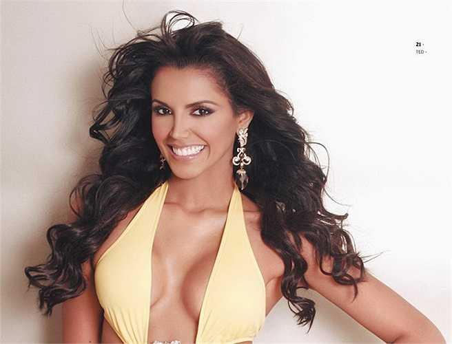 Ivian Sarcos - Hoa hậu Thế giới năm 2011 cũng giành Miss Grand Slam cùng năm