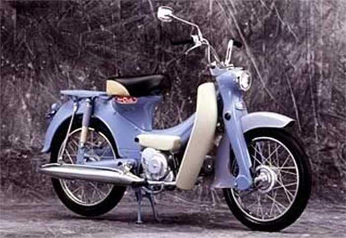HONDA PORT CUB C240 được chụp vào năm 1962