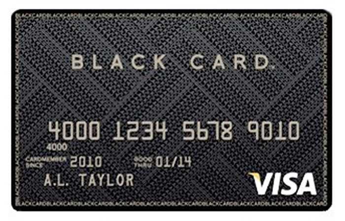Thẻ Barclays Visa Black được làm bằng thép không rỉ và nhìn 'chất' nhất so với các loại thẻ tín dụng khác. Để sở hữu được thẻ đen này, bạn phải chứng minh thu nhập chiếm 1% thu nhập của cả đất nước. Đồng thời để giữ độc quyền, người sử dụng phải trả gần 500 USD phí thẻ cho 1 năm.