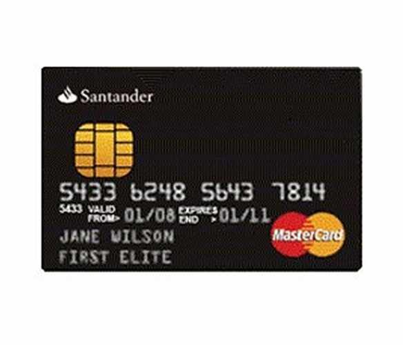 Thu nhập của chủ sở hữu Black Brazilian MasterCard (Santander Group) phải là 1% trong số 3000 người giàu nhất Brazil. Không có gì đặc biệt hơn là thẻ màu đen và thậm chí chất liệu không phải là thép chống rỉ, nhưng trở thành thành viên của câu lạc bộ của 3.000 người giàu nhất cũng là một điều mong ước không hề đơn giản.