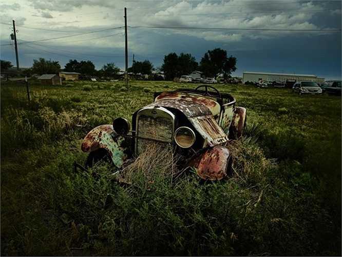 Nghĩa trang xe ở Colorado, Mỹ