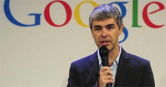 Larry Page tổng tài sản 24,9 tỷ USD cùng với Sergey Brin sáng lập ra Google, cha ông là người đi đầu ngành công nghệ thông tin. Thông qua luận án tiến sĩ của mình, ông cùng Brin tìm hiểu về mạng World Wide Web trước khi Google xuất hiện trong đầu mình.