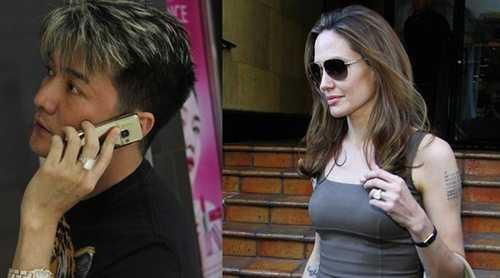 Mr Đàm từng tự hào khi khoe chiếc nhẫn kim cương của mình giống với minh tinh điện ảnh thế giới Angenlina Jolie.