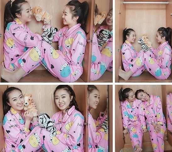 Tình cảm và sự gắn bó, thân thiết của cặp chị em Vân Trà và Vân Trang khiến nhiều người xung quanh ghen tỵ.