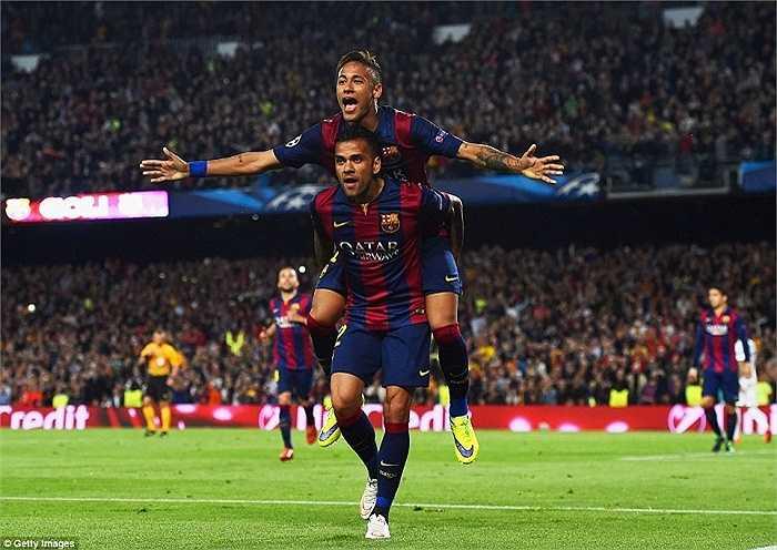 Barca thắng 3-1 ở lượt đi nên trở về Nou Camp, không khó để dự đoán chiến thắng dành cho thầy trò Luis Enrique