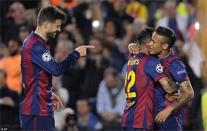 Bộ ba Messi-Neymar-Suarez đang là bộ 3 tấn công đáng sợ nhất thế giới