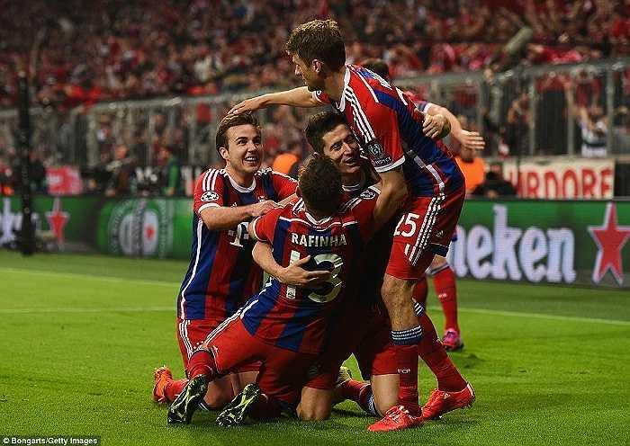 Mọi thứ hoàn toàn nằm trong tầm kiểm soát của Bayern. Những bàn thắng tiếp theo đến như một điều tất yếu, khi mà Porto không có bất kỳ một phản ứng nào