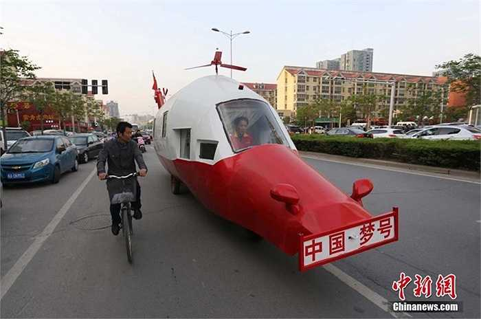 Ông Yuan vốn là kỹ sư máy bay đã mất 5 năm để chế tạo nên chiếc 'trực thăng' đặc biệt này