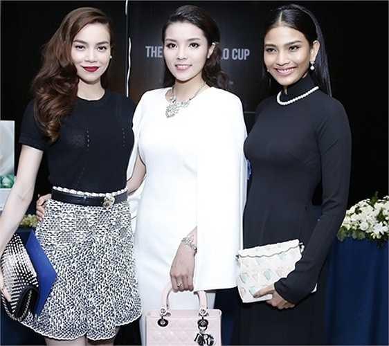 Tham gia một buổi tiệc với Trương Thị May và Hà Hồ, Kỳ Duyên bị 'dìm hàng' về nhan sắc.