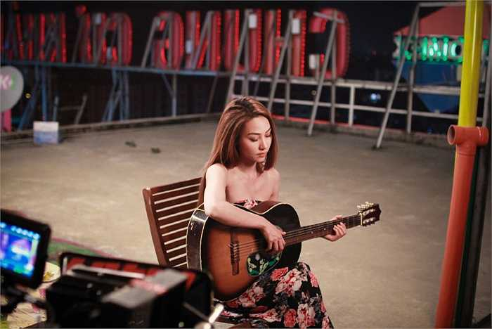 Trong bộ phim này, Ngân Khánh sẽ vào vai nữ chính – Lam.