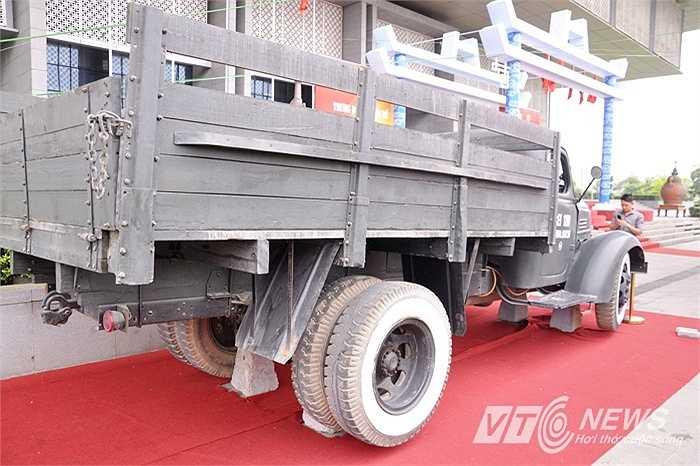 Trong chiến dịch Hồ Chí Minh lịch sử, chiếc xe đã hoàn thành nhiều nhiệm vụ chở quân chi viện, vũ khí, đạn dược tiến về Sài Gòn.