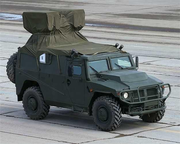 Xe bọc thép Tiger với mô-đun vũ khí chống tăng sử dụng tên lửa Kornet-D.