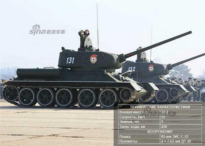 Xe tăng chiến đấu T-34/85.