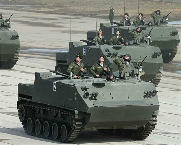 Phương tiện chiến đấu đổ bộ đường không BTR-MDM.