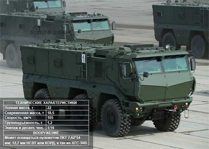 Xe bọc thép chở quân Typhoon-K.