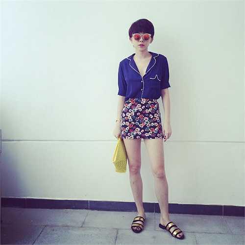 Tóc Tiên được coi là biểu tượng thời trang mới của showbiz Việt.