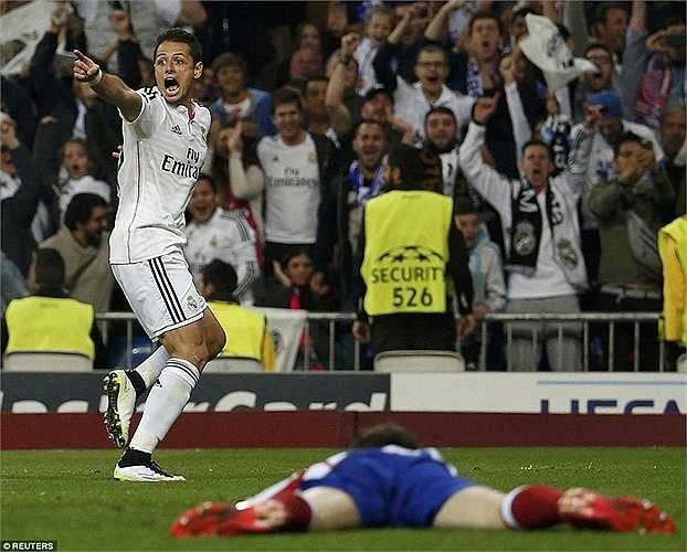 Giống như lượt đi, Real chủ động cầm bóng và tổ chức tấn công.