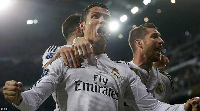 Chiến thắng gã hàng xóm đáng ghét luôn đẩy cảm xúc của các cầu thủ Real lên tột đỉnh