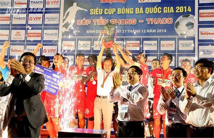 Gần đây nhất, đầu mùa 2015, ông giúp B.Bình Dương giành Siêu Cup Quốc gia.