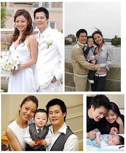 Năm 2007, cô gặp gỡ và bén duyên Quang Dũng khi hợp tác đóng phim. Sau đó, hai người nảy sinh tình cảm và quyết định tiến đên hôn nhân. Bé Bảo Nam ra đời vào năm 2008 là kết quả tình yêu của cặp đôi đẹp làng giải trí lúc bấy giờ.