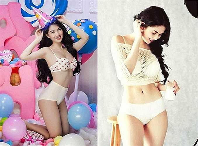 Không chỉ nổi danh ở V-biz, cô vừa nhận giải 'Nữ hoàng bikini Châu Á' tại Hàn Quốc.
