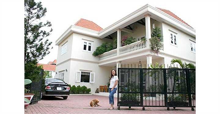 'Chốn đi về' của nữ diễn viên uy nghi và bề thế như một resort cao cấp ở khu Thảo Điền, Q.2
