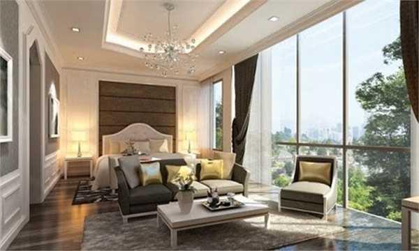 Bản thiết kế căn hộ của Thu Minh hoàn toàn được giữ kín. Tuy nhiên, bản vẽ 3D trên trang web của siêu dự án đã tiết lộ phần nào thiết kế của căn hộ xa xỉ này.