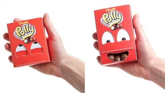 Hộp kẹo với đôi mắt bí ẩn này nhanh chóng trở thành nụ cười rất dễ thương.