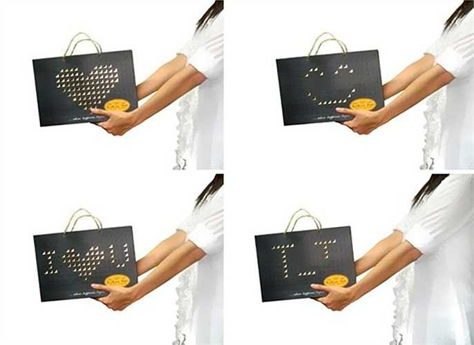Chiếc túi này có phần vỏ bên ngoài hết sức độc đáo, giúp bạn truyền tải cảm xúc, thông điệp của mình mỗi ngày.