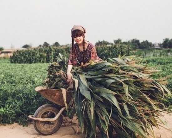 Bộ ảnh thực hiện tại một ngôi làng nhỏ ở Quảng Nam.