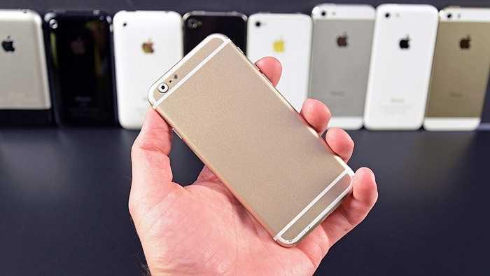 Doanh thu iPhone đạt 36,6 tỷ USD, tăng 40%. Chiếc điện thoại iPhone 6 Plus đắt đỏ đang ngày một phổ biến nên kéo theo mức giá trung bình của các sản phẩm iPhone của Apple có chiều hướng tăng lên.