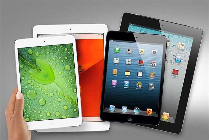 Số lượng iPad bán được chỉ đạt 15 triệu chiếc, giảm 10%. Doanh thu cho iPad vì thế cũng giảm 20%, chỉ đạt 6,1 tỷ USD. Điều này là do điện thoại màn hình lớn đang ngày càng trở nên phổ biến hơn, sức hút của những chiếc iPad đã giảm hơn nhiều so với trước.