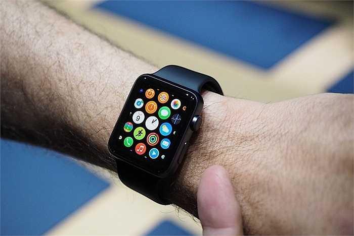 Số lượng đồng hồ Apple Watch bán được khoảng 5 triệu. Đây là con số dự kiến cho quý III của hãng dựa trên lượng đơn đặt hàng.