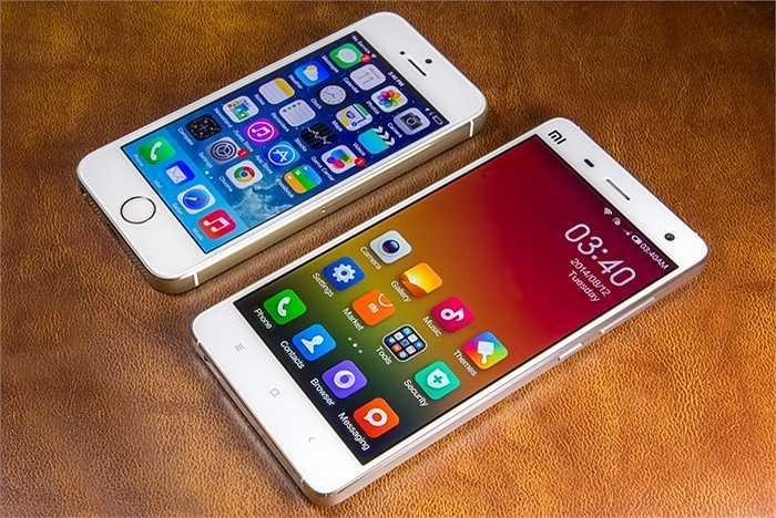 Doanh số bán hàng tại Trung Quốc của Apple đạt 16,1 tỷ USD, chiếm gần 20% tổng doanh thu của hãng và gần như bằng cả doanh thu ở khu vực châu Âu. Tuy có triển vọng tiếp tục tăng trưởng ở quốc gia này xong Apple vẫn phải đối mặt với sự cạnh tranh gay gắt của hãng điện thoại mới nổi Xiaomi.