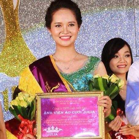 Ước mơ của Á khôi Miss VNU là mở một công ty tổ chức sự kiện riêng.