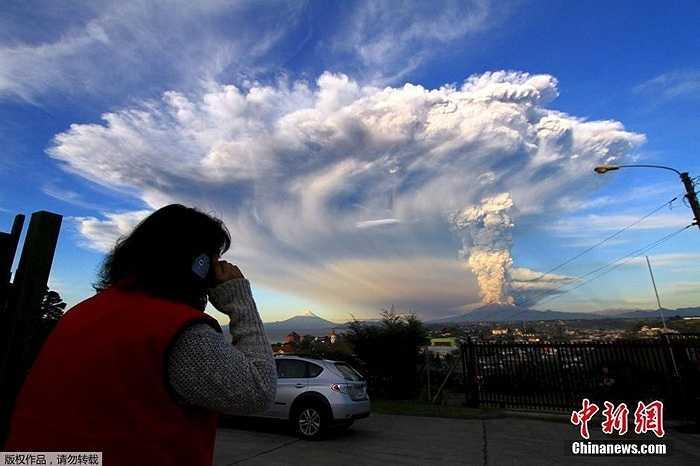 Nằm trên vành đai lửa Thái Bình Dương, Chi Lê có nhiều núi lửa nhiều thứ 2 sau Indonesia