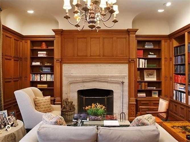 Đây là phòng đọc sách
