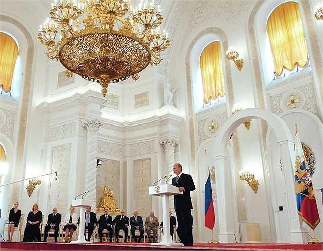 Hình ảnh nhà lãnh đạo Nga năm 2006