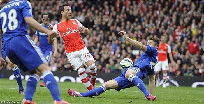 Arsenal dù cố gắng vẫn không thể có 3 điểm trước Chelsea