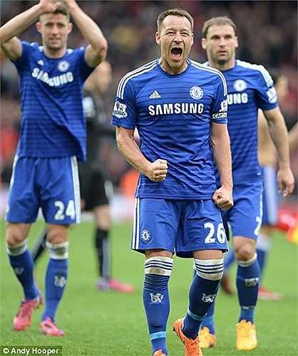 Ngay từ đầu Chelsea đã nhập cuộc với tâm lý tránh 1 trận thua