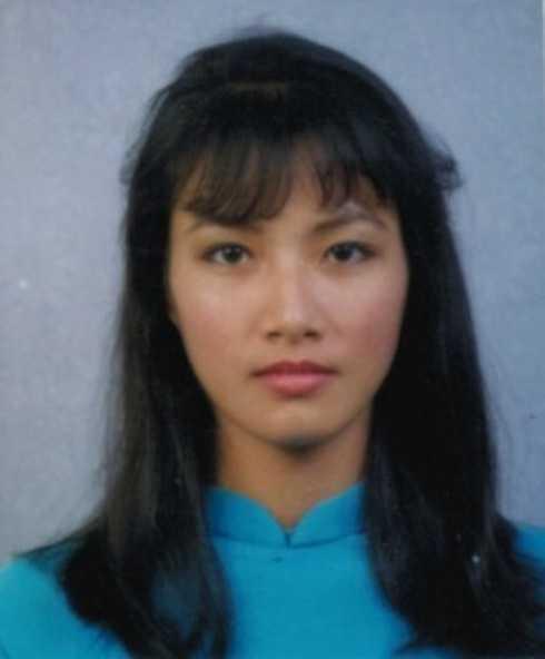 Trương Quỳnh Mai thời trẻ.