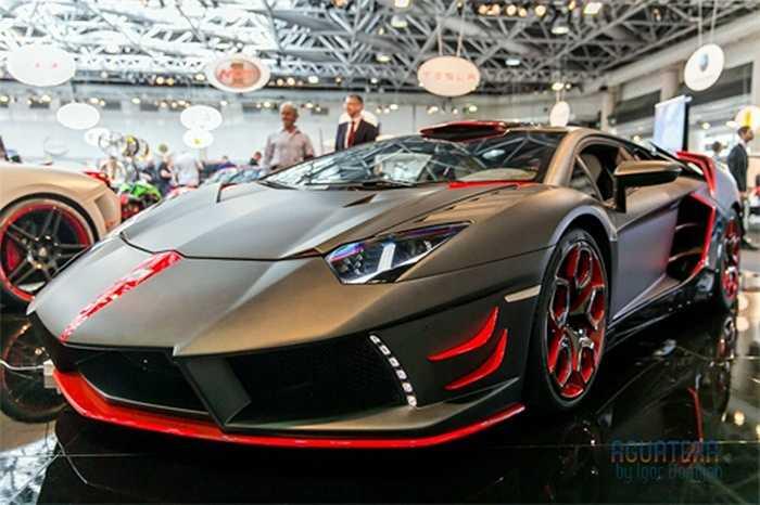 Bản độ Lamborghini Aventador của Nimrod Performance